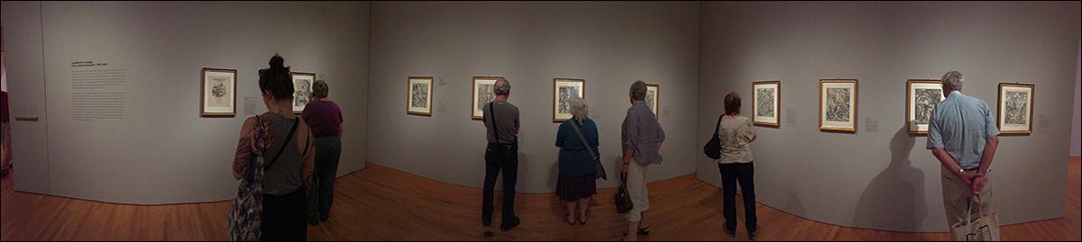 Durer, installation view Graphic Masters, Seattle Art Museum
