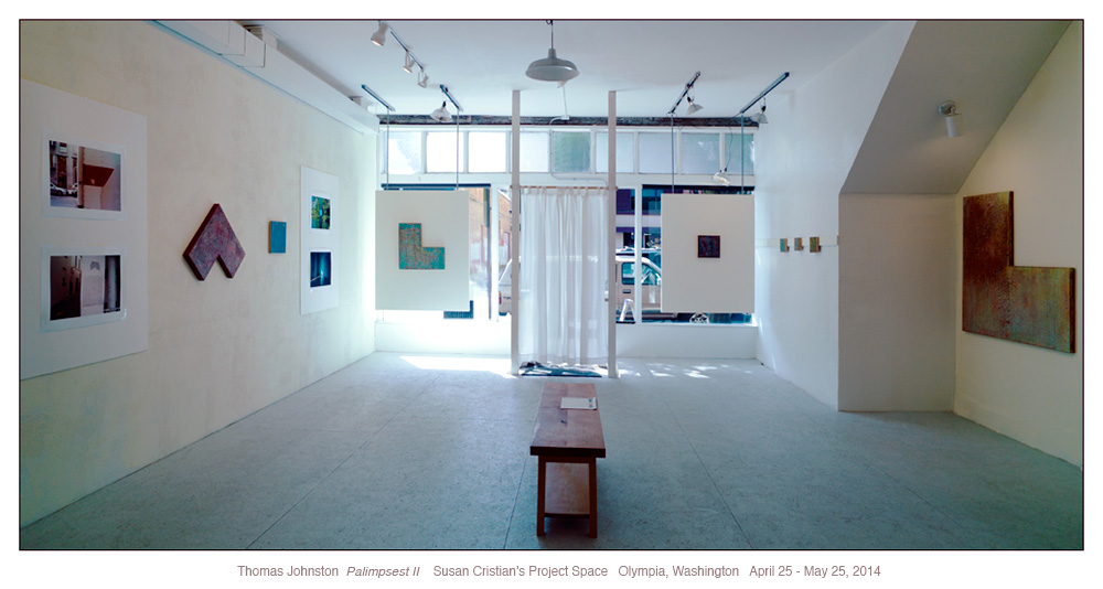 Installation view of Palimpsest II 2014
